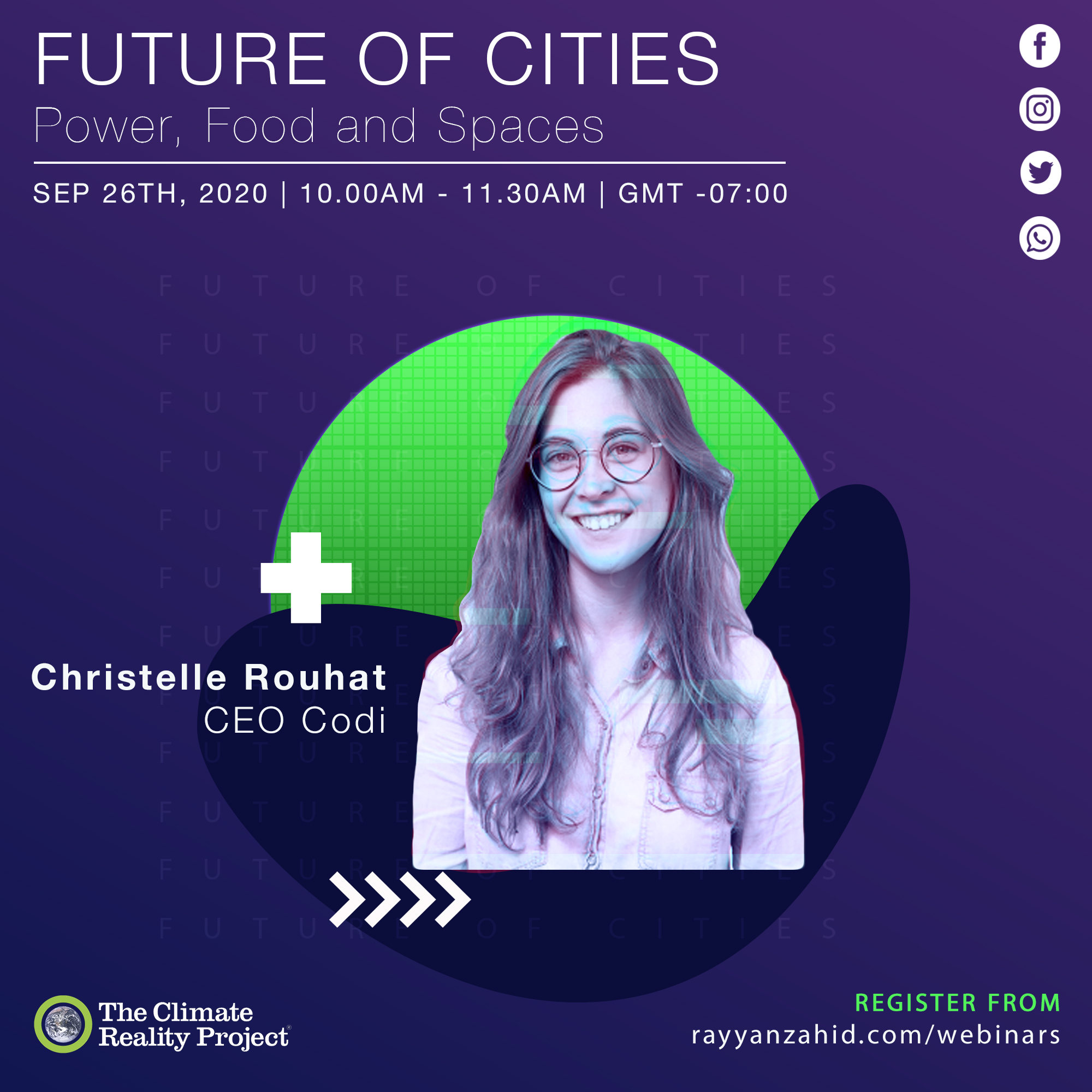 Christelle Rouhat Poster for Future of Cities