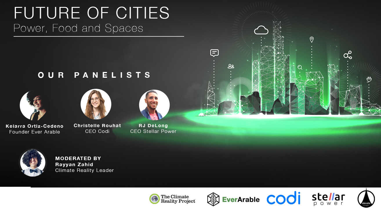 Future of Cities: Power, Food and Space