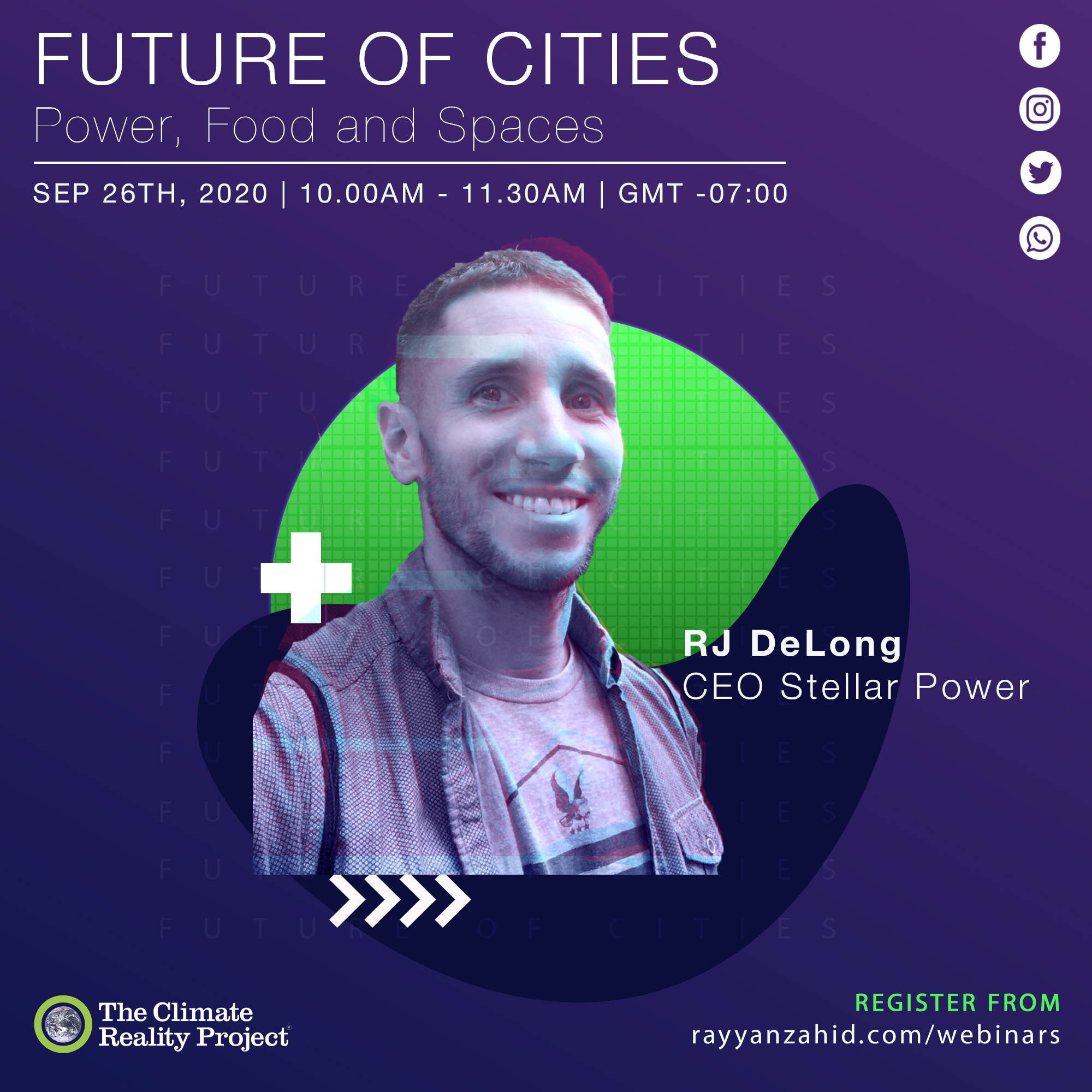 RJ DeLong Poster for Future of Cities